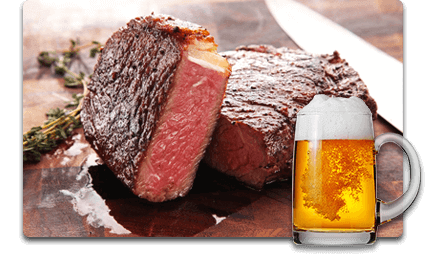 Steak and Beer Party